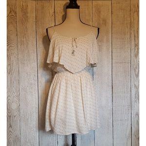 American Eagle Ivory Mini Dress Size XS